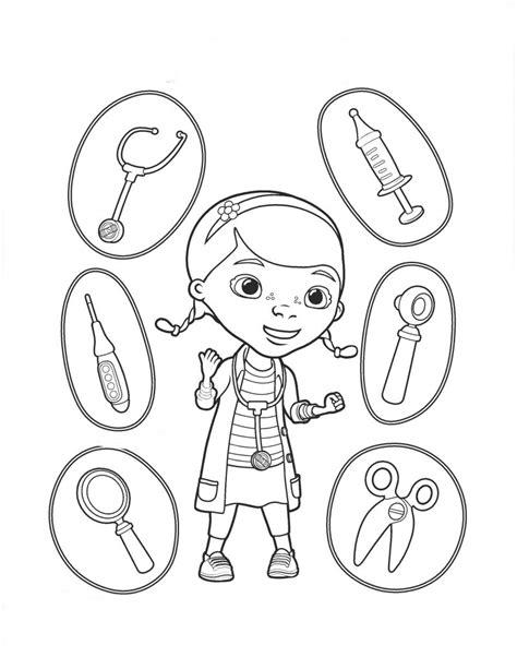 Dibujos de la Doctora Juguetes para colorear, pintar e