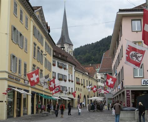 Chur, Switzerland. Charming Old Town.   Our 50th Wedding