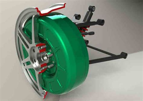 in wheel electric motor protean in wheel electric motor 171 inhabitat green design