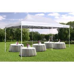 Backyard Wedding Tents by Giga Tent Party Tent 10 X 20 Canopy White Walmart Com