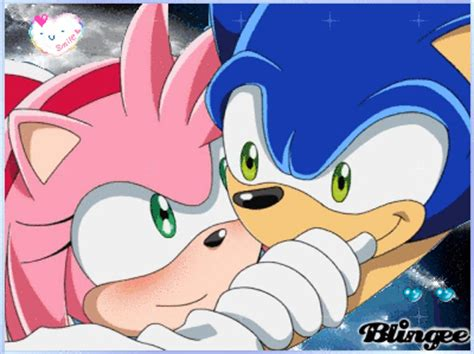 amy & sonic love picture #119129519 | blingee.com