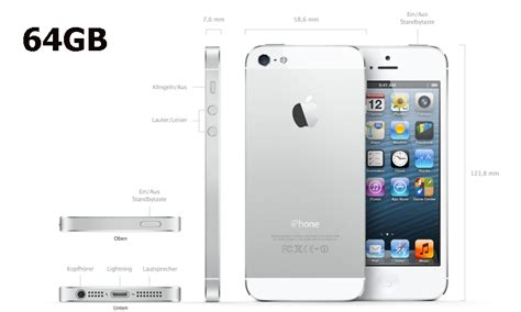 Apple Iphone 5 64gb Bnib apple iphone 5 64gb weiss pda max