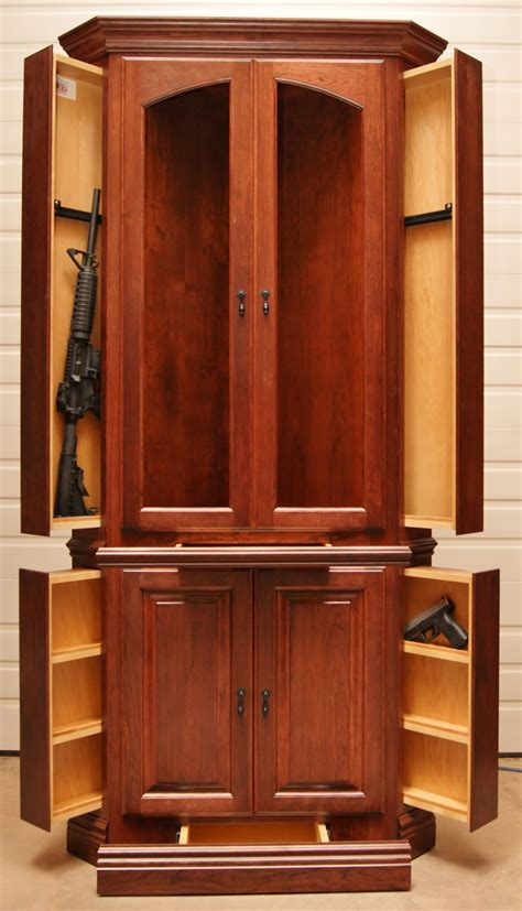 corner gun cabinet video images home furniture ideas
