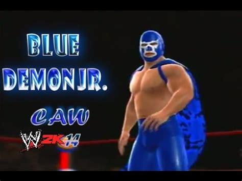 wwe 2k14 caws xbox 360 blue demon jr caw aaa cmll leyendas wwe 2k14 caws
