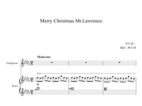 merry christmas  lawrence arrangement  vibraphone youtube