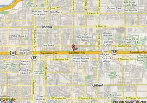 Map Of Mesa Arizona by Map Of Super 8 Motel Phoenix Mesa Gilbert Road Mesa