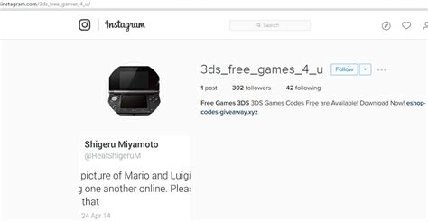 Eshop Codes Giveaway - free console games on instagram not exactly malwarebytes labs malwarebytes labs