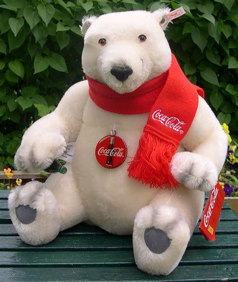 teddy bears amp friends steiff coca cola bear year