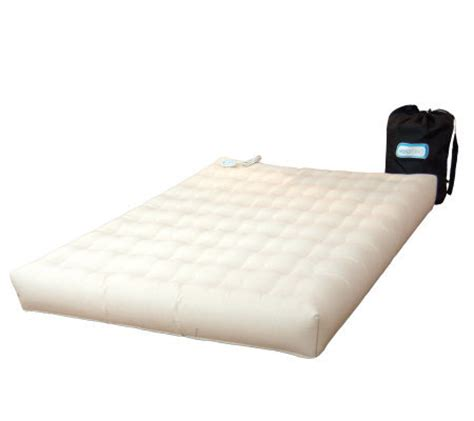 aero air bed aero bed premier durasuede full air mattress built in pump