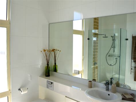 bathroom mirrors frameless frameless glass shower screens bathroom mirrors