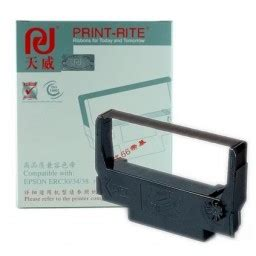 Print Rite Erc 30 34 38 prit rite black ribbon compatible with epson erc 30