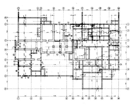 working drawing floor plan vip house working drawing basement foundation plan
