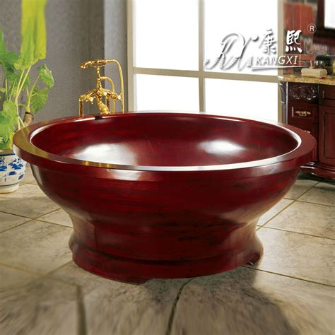red bathtubs round wooden bowl shape red bathtub for sale in bathtubs whirlpools from home