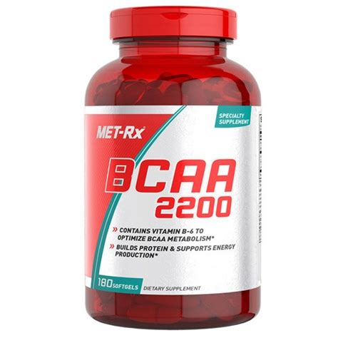 Special Edition Metrx Bcaa 2200 180 Softgels Met Rx Bcaa 2200 180 Capsules