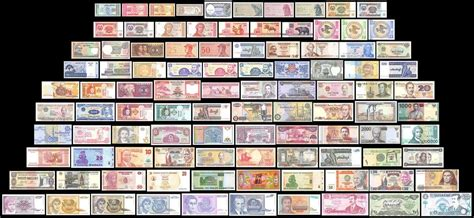 noted of the world on sts a collection of sts issued by 95 countries in the world books 100 pieces pcs of different world mix foreign banknotes