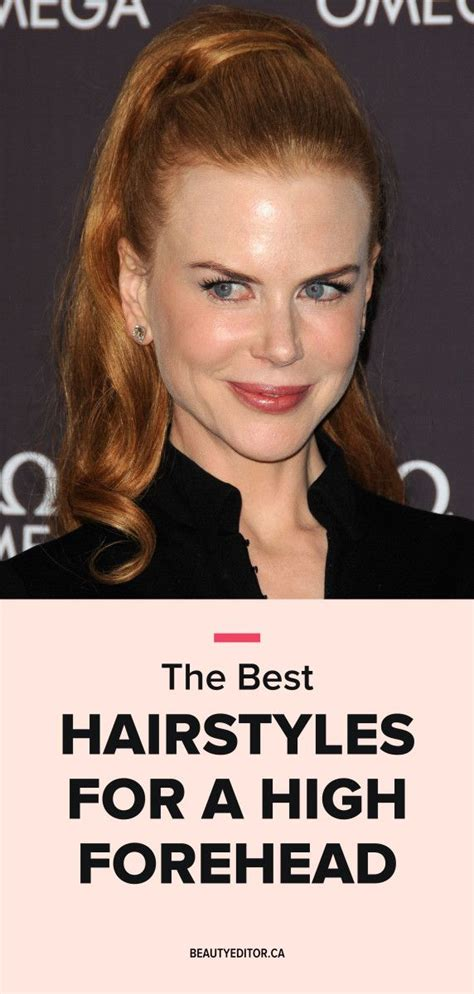 is my forehead to high for no bangs 25 beautiful high forehead ideas on pinterest high