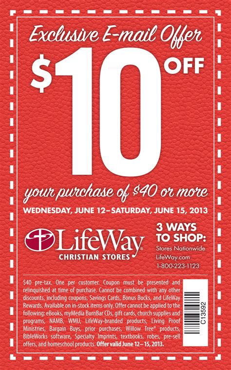 lifeway christian store coupons 2018