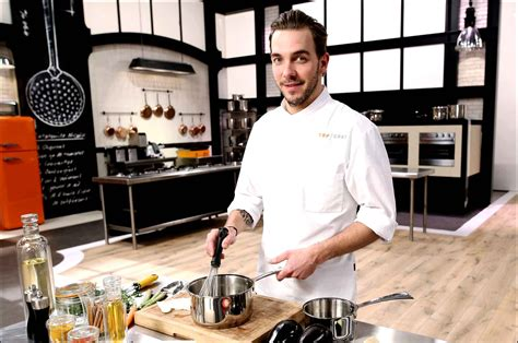 chef cucine cuisine de chef craquez pour une cuisine grise