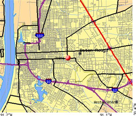 zip code map baton rouge 70806 zip code baton rouge louisiana profile homes