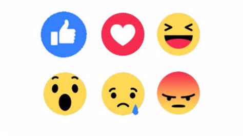 emoji like like this facebook users can now post emoji reactions