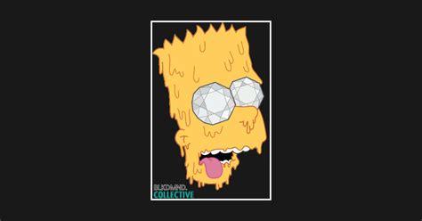 T Shirt Supreme Bart Simpsons Premium bart white outline homer t shirt