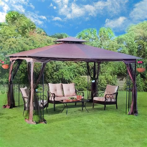 gazebo furniture outdoor garden gazebo pergola patio furniture metal frame