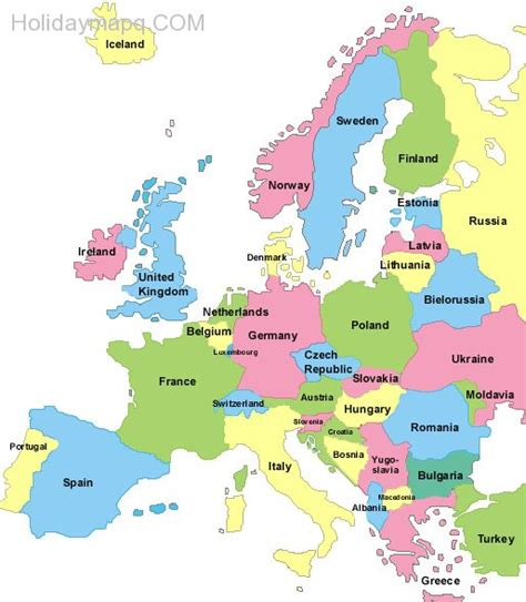 labelled europe map image gallery labeled map of europe