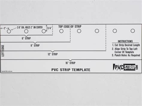 hole punch template templates data