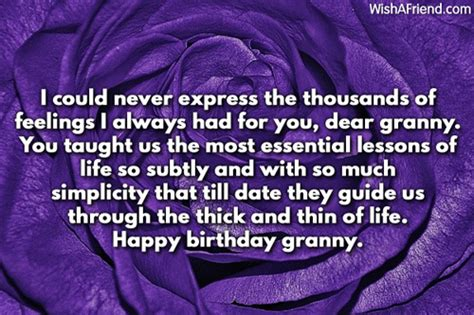 Quotes About Grandmothers Birthday Birthday Wishes For Grandmother
