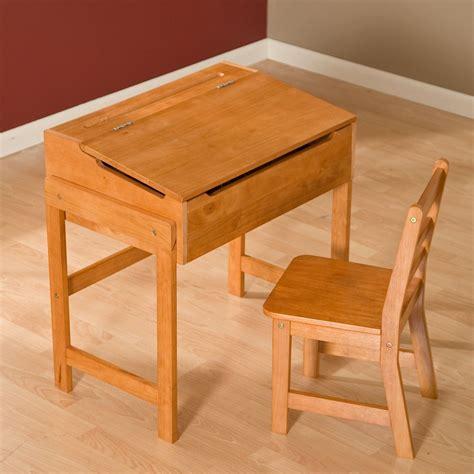 Bedroom Desk And Chair Set by Vintage Desk And Chair Set Flip Top Storage Playroom