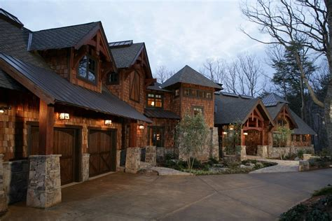 rustic mountain timber frame home plans amicalola home