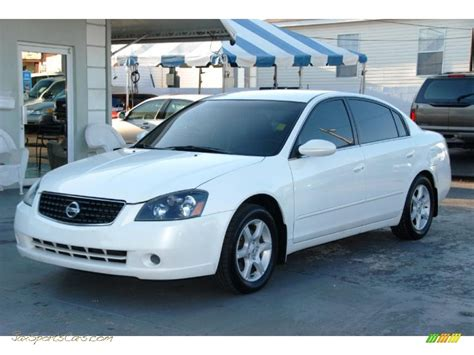 nissan altima white 2006 2006 nissan altima 2 5 s in satin white pearl 146755