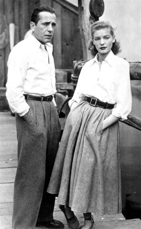 1940s: Humphrey Bogart and Lauren Bacall from Best Dressed