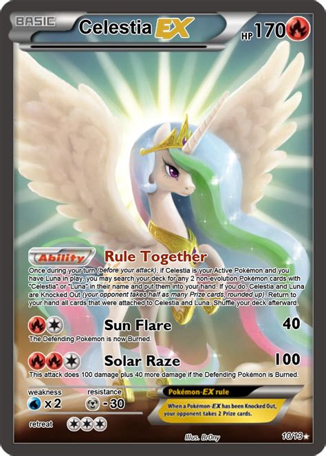 how to make a ex card celestia ex card by the ketchi on deviantart