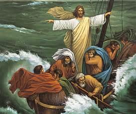 Image gallery jesus storm at sea