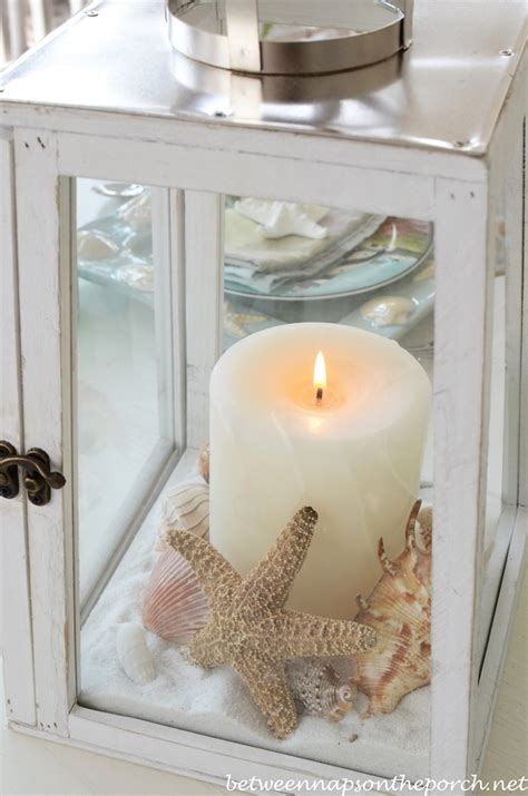 lighthouse lantern centerpieces chic weddings beaches and chic on
