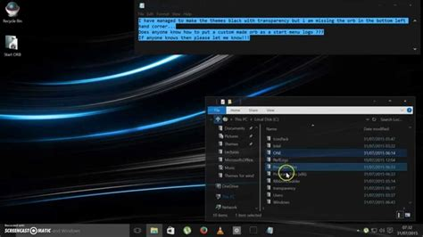 windows black themes download windows 10 black theme with transparency youtube