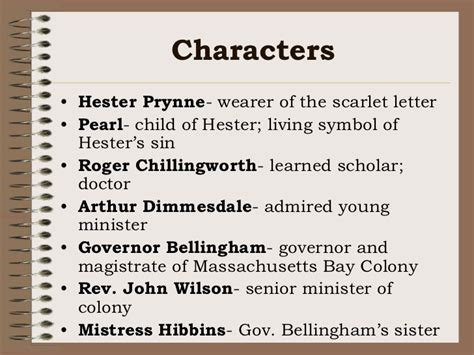 themes in chapter 7 of the scarlet letter scarlet letter