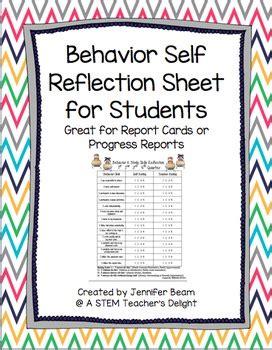student behavior self reflection student behavior self reflection by a stem teacher s