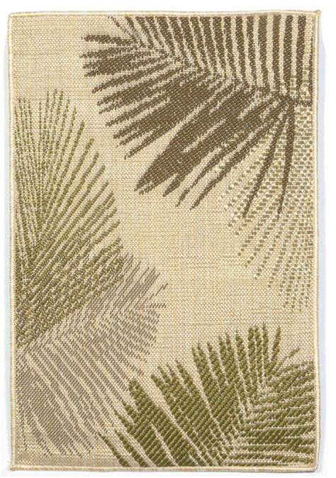 Tropical Outdoor Rugs Palms Green Indoor Outdoor Flatweave Rug Tropical Outdoor Rugs By Michael Anthony Furniture