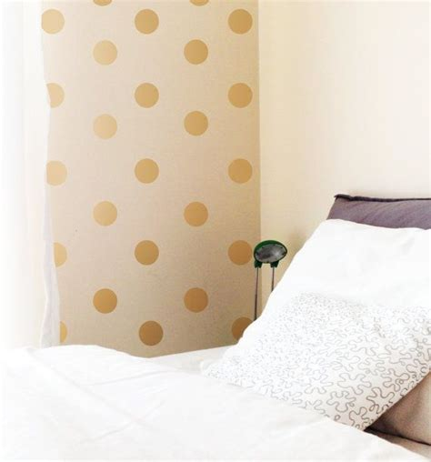 gold dot wall decals best 25 gold dot wall ideas on pinterest wallpaper with gold dots polka dot nursery and