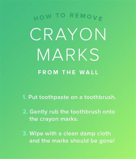 remove crayon from wall remove crayon from the wall with toothpaste 7 cleaning