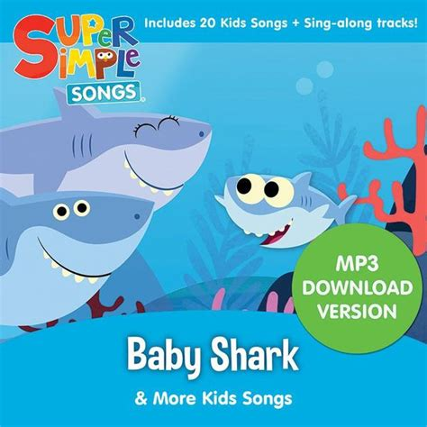 baby shark korean version lyrics baby shark more kids songs audio download super