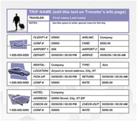 travel agency business plan template business travel plan template free printables word excel