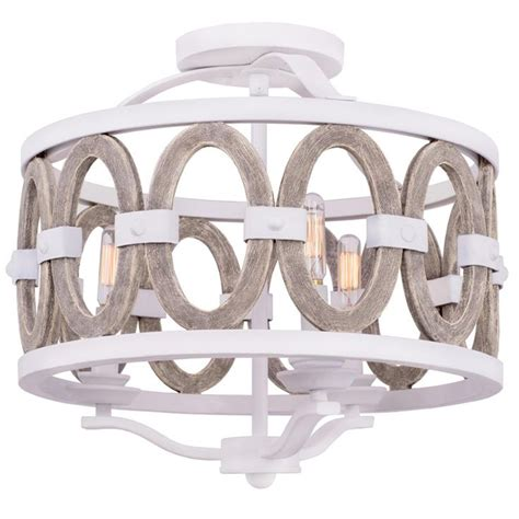 Driftwood Entwined Ovals Ceiling Light Hallways Lights Driftwood Light Fixtures