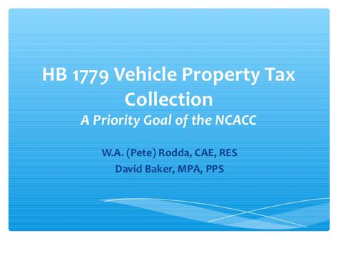 Nc Vehicle Property Tax Records H1779 Nc Combined Motor Vehicle Registration And Property Tax Collect