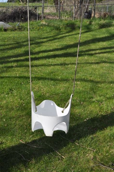 baby swing for tree hanging toddler swing from a 5 gallon bucket milwaukee makerspace