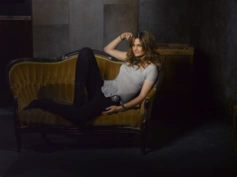 new season 2016 of castle stana katic wallpapers wallpaper cave