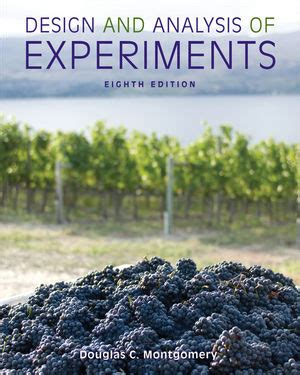 design of experiments montgomery free download wiley design and analysis of experiments 8th edition