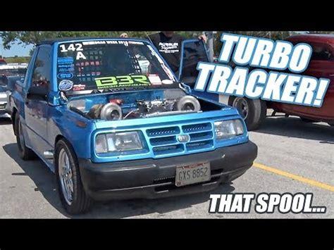 big block twin turbo geo tracker | dragtimes.com drag